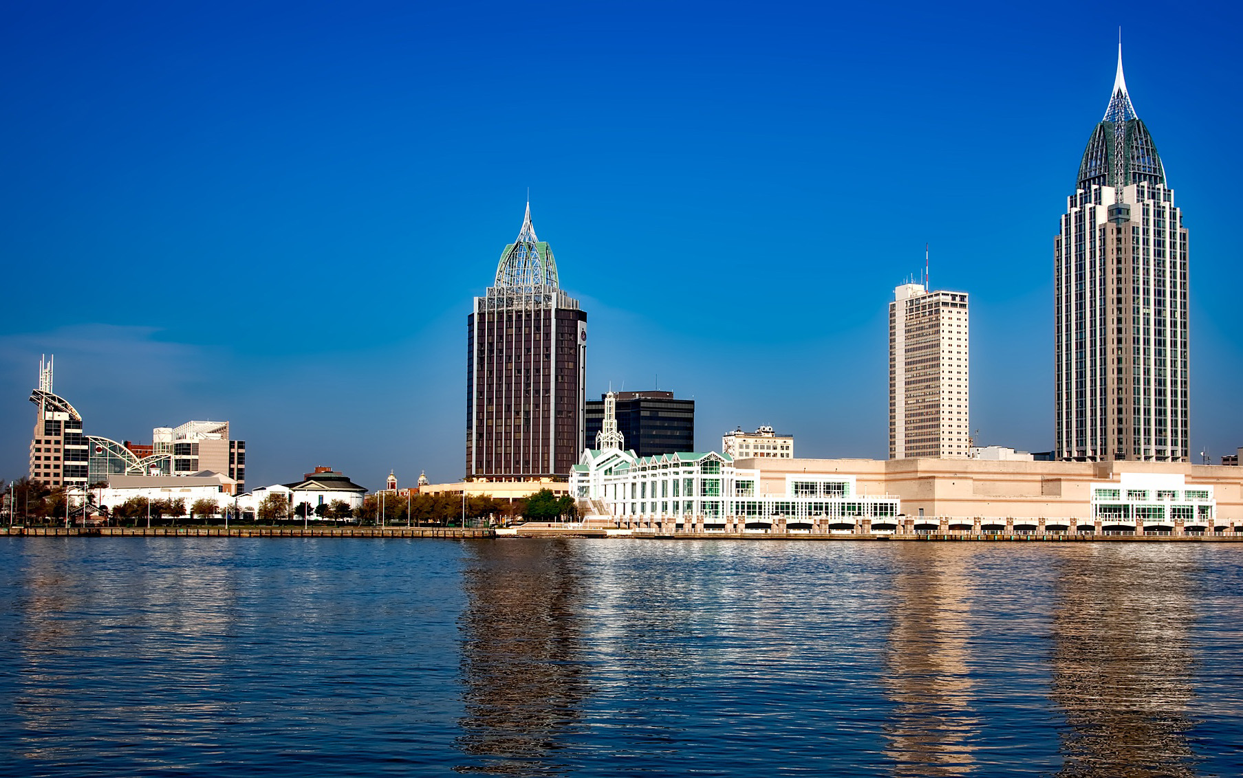 Mobile, Alabama skyline